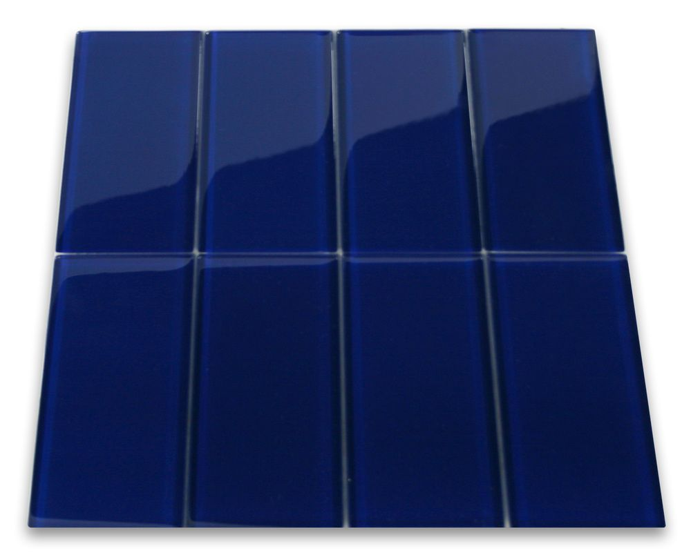 Cobalt Glass Subway Tile for backsplash - Subway Tile Outlet $17/sq ...