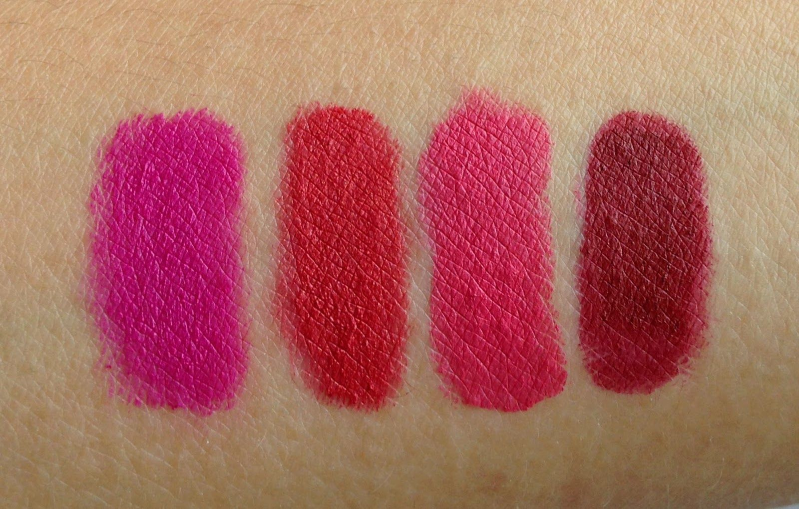 THE CLUTTERED COUNTER Glo Mineral Suede Matte Collection