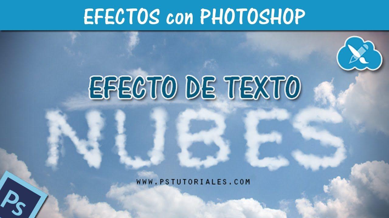 Texto de Nubes - Photoshop Tutorial