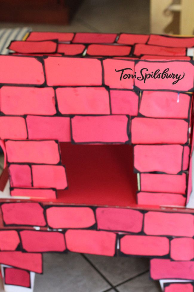 Fireplace Design sams club fireplace : kids pretend fireplace made with boxes from Costco or Sam's Club ...