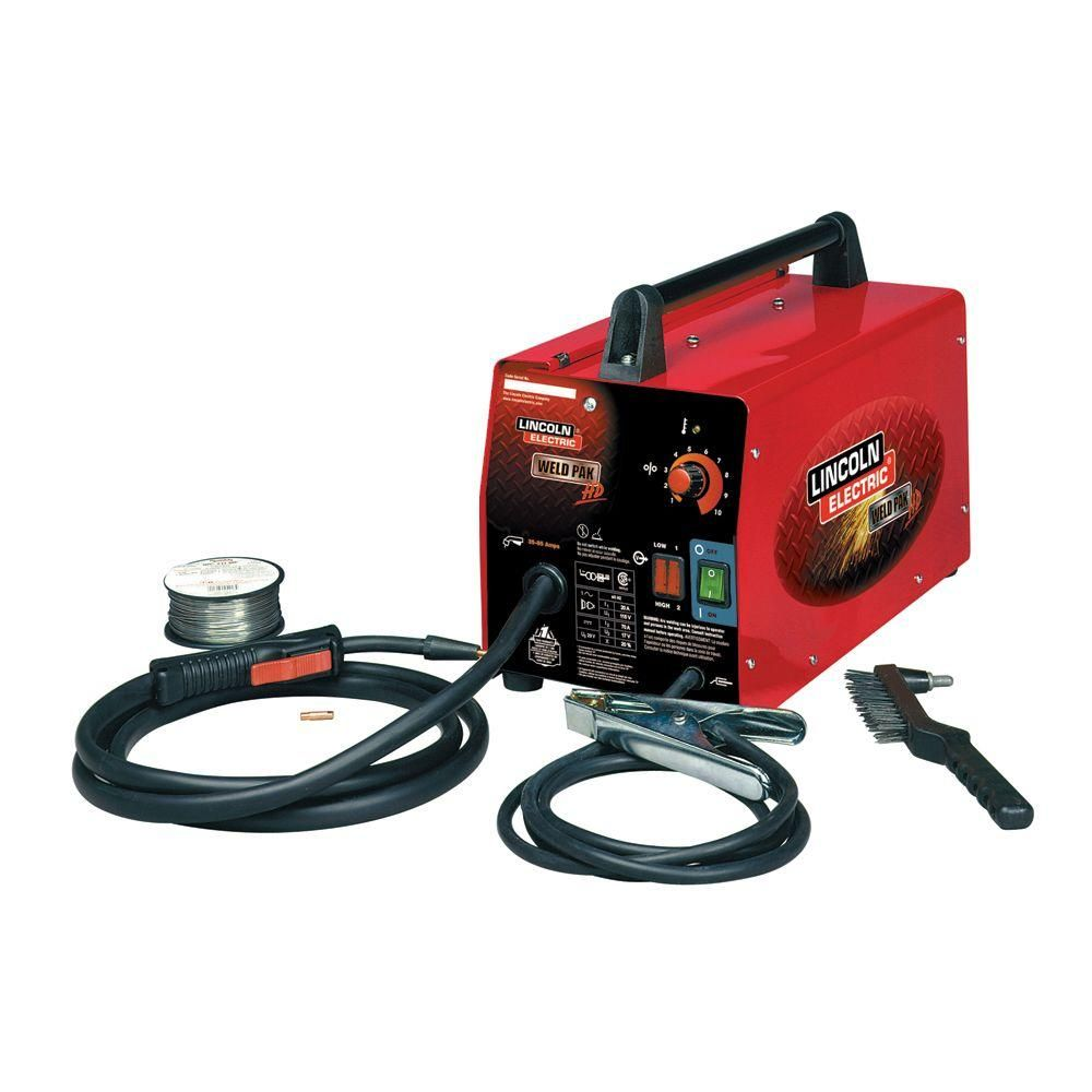 Lincoln Electric Weld Pack HD Feed Welder | Metal working