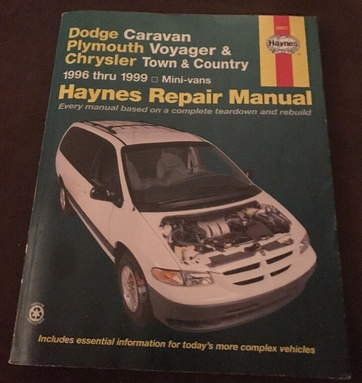 [Hayes Car Manuals 1999 Chrysler Town Country Seat ...