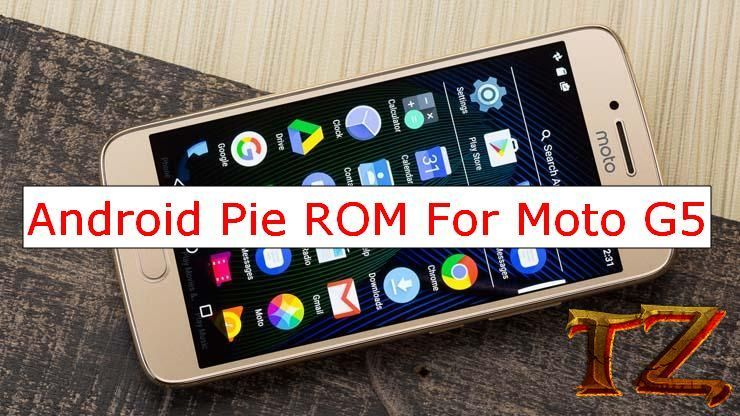 Official Android Pie 9 0 ROM For Moto G5 | Daily Tech Tips | Android