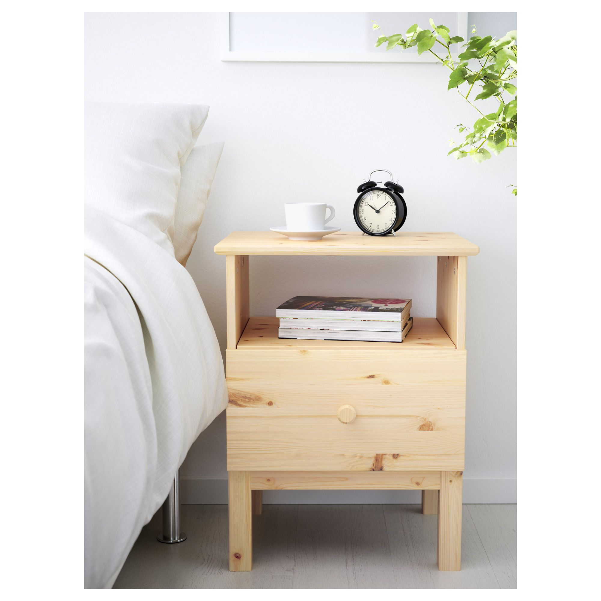 TARVA Bedside table Pine IKEA Bedside table ikea