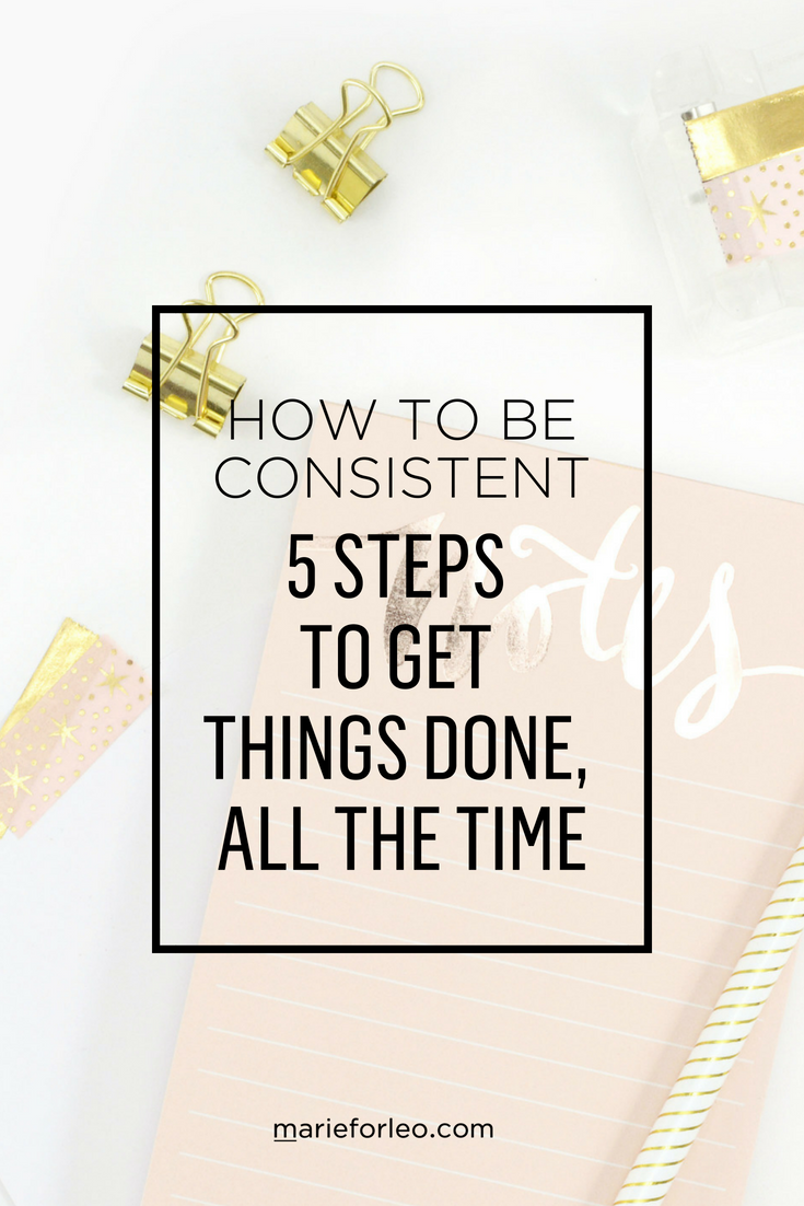 Marie Forleo shares six secrets to getting things done. #BeingConsistent  #BeConsistent #ToDoList #GettingThingDone #Productivity  #ProductivityStrategies ...