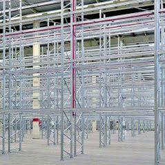 Scaffalature Metalliche Misure Standard.Scaffalature Industriali Portapallet Block Sistem Centro