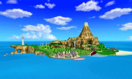 Wuhu Island Wii Sports Resort Wii Sports Survivor Island