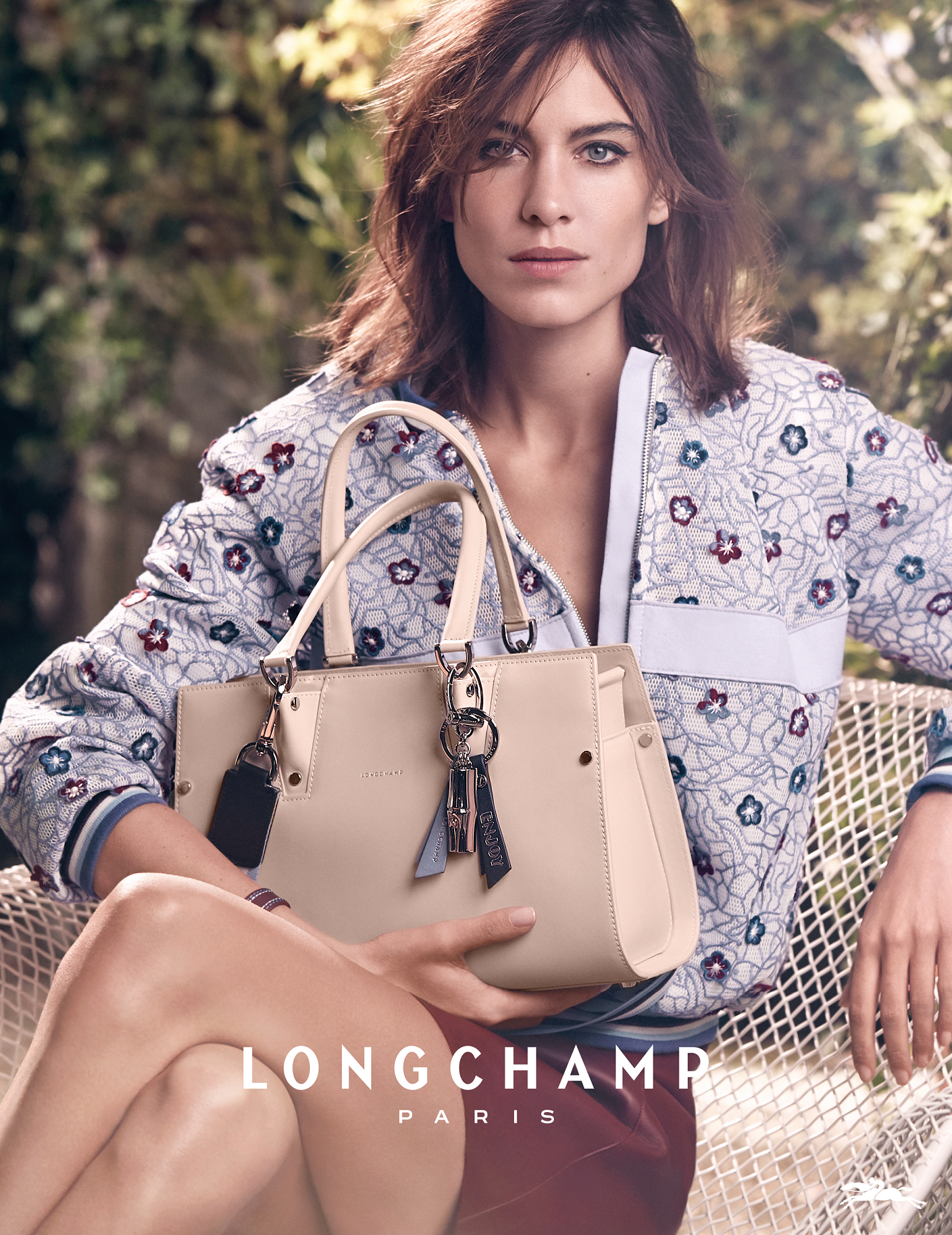 Longchamp Spring 2017 New Campaign Discover It On En