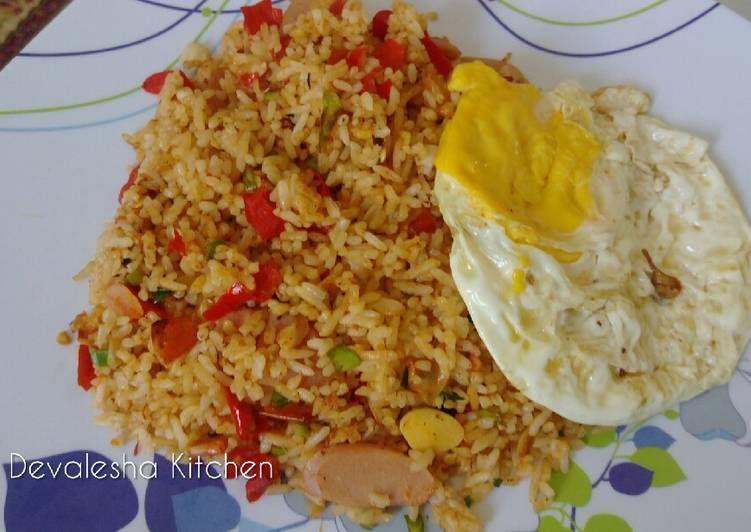 Resep 99 Nasi Goreng Minang Super Pedas Oleh Devalesha Kitchen Resep Resep Makanan Makanan Resep
