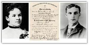 Henry Ford Married Clara Jane Bryant On April 11 1888 They Had
