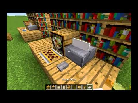 Trick Cool Office Design How To Make A Printer In Minecraft Minecraft Cool Office Minecraft Creations