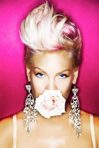 Copy Pink's Pompadour Hair Style