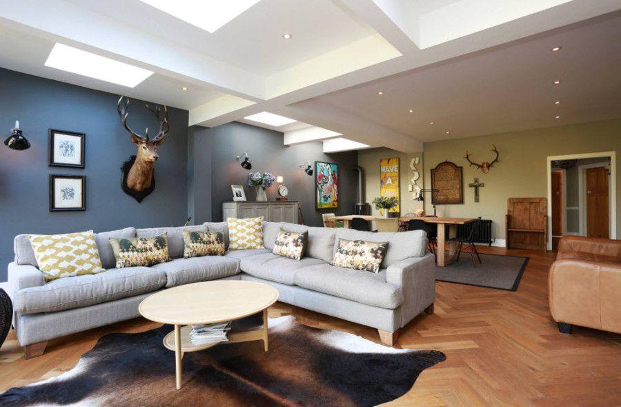 100 лучший идей: угловые диваны в интерьере гостиной на ...