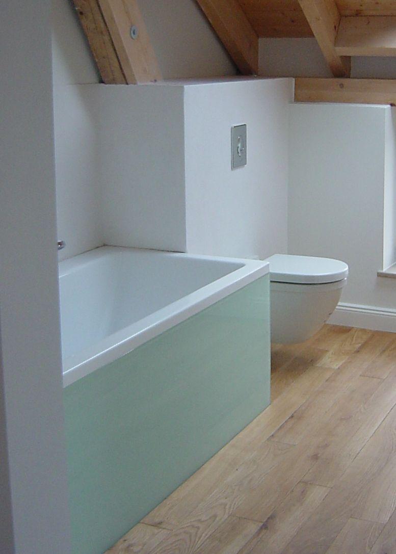 Moderne Badgestaltung Mit Tadelakt Im Farbton Weiß