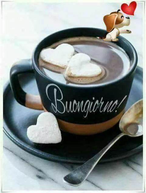 Pin Di Rosi Su Birthday Cards Buongiorno Buongiorno Caffè