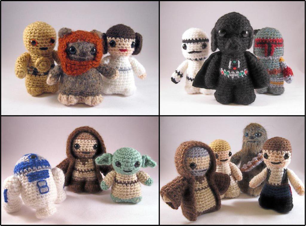 Amigurumi Star Wars : Amigurumi inspiration virkat crochet star and