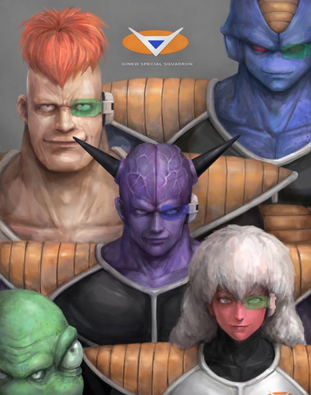 Fuerzas Especiales Ginyu Ultra real | Dragon Ball | Pinterest ...