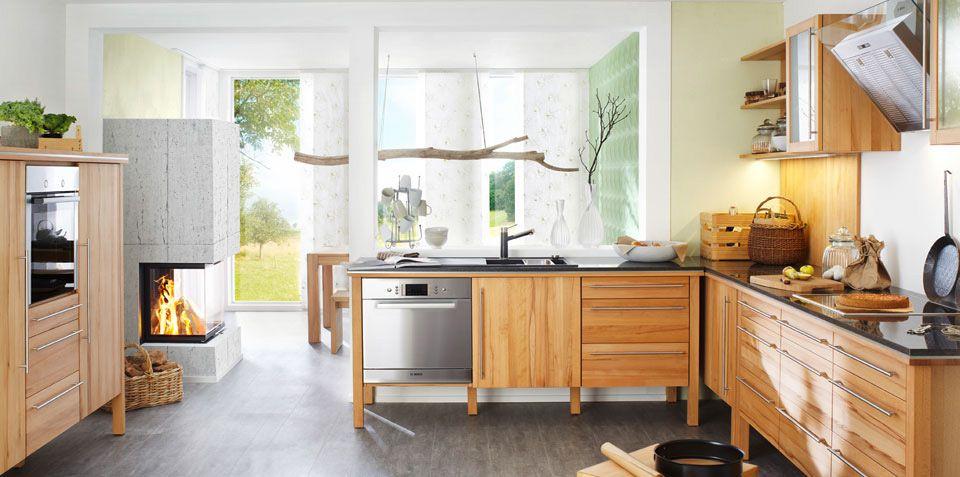 Annex Landhausküche Komplett Aus Massivholz