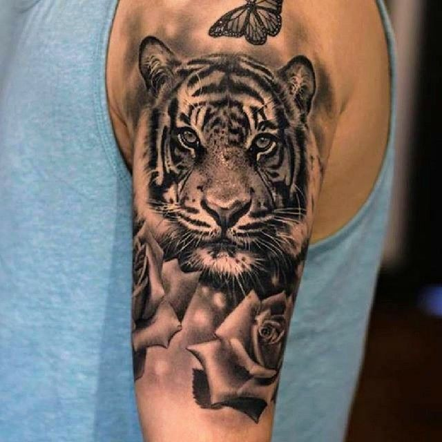 Tiger Tattoo Tiger Tattoo Animal Tattoo Mermaid Tattoos