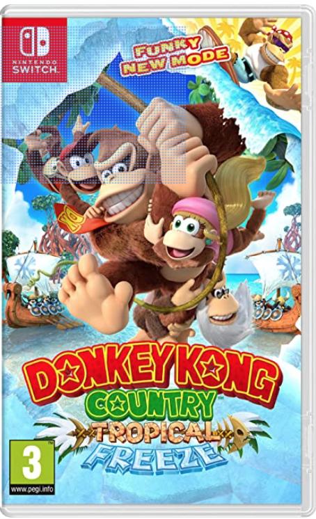 Donkey Kong Country Tropical Freeze Nintendo Switch Donkey Kong Donkey Kong Country Nintendo