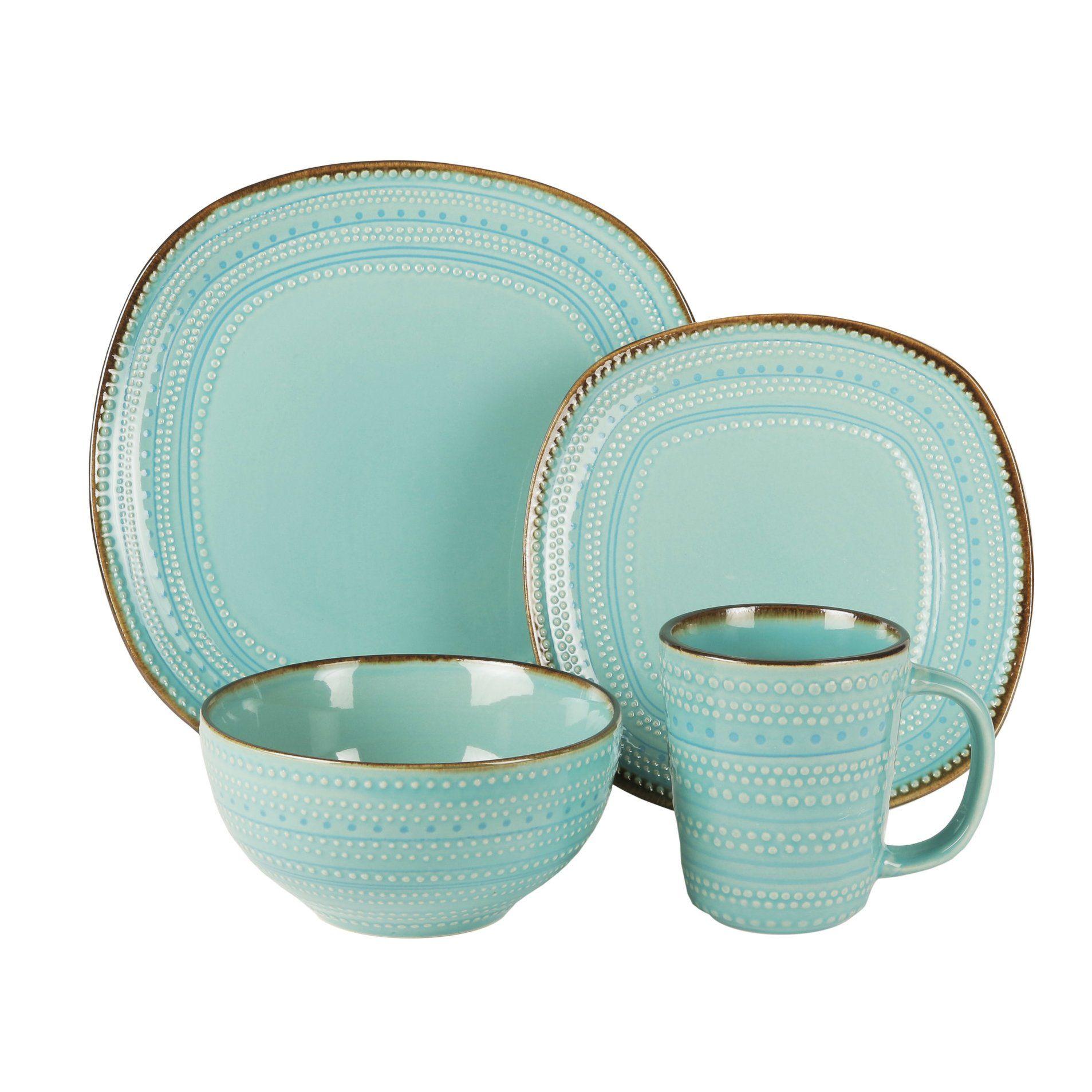 Bungalow Rose Preston 16 Piece Dinnerware Set | Artistry home ...
