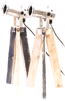 Bureaulamp mini statief.  Statieflamp/ Industrieel/ Bureaulamp.
