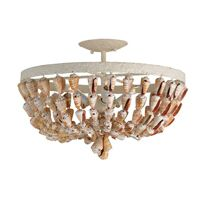 Shell Ceiling Mount Chandelier