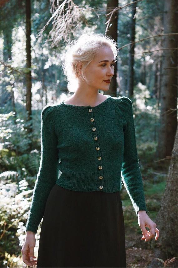Photo of Minerva Cardigan Knittingpattern | Etsy