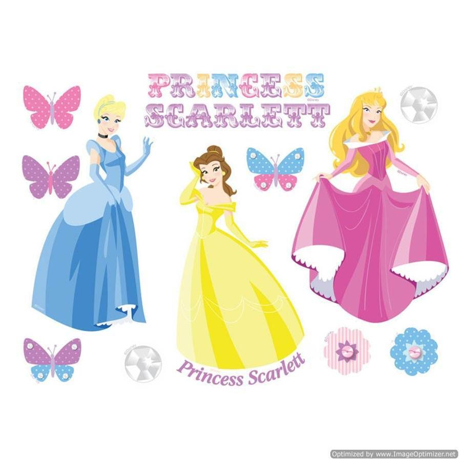Personal Touch Gifts - Princess Fairytale Wall Art, £18.99 (http ...