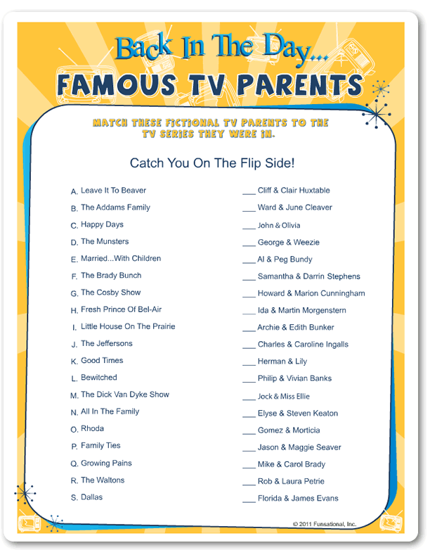 Back In The Day Famous Tv Parents Baby Pinterest Baby Shower
