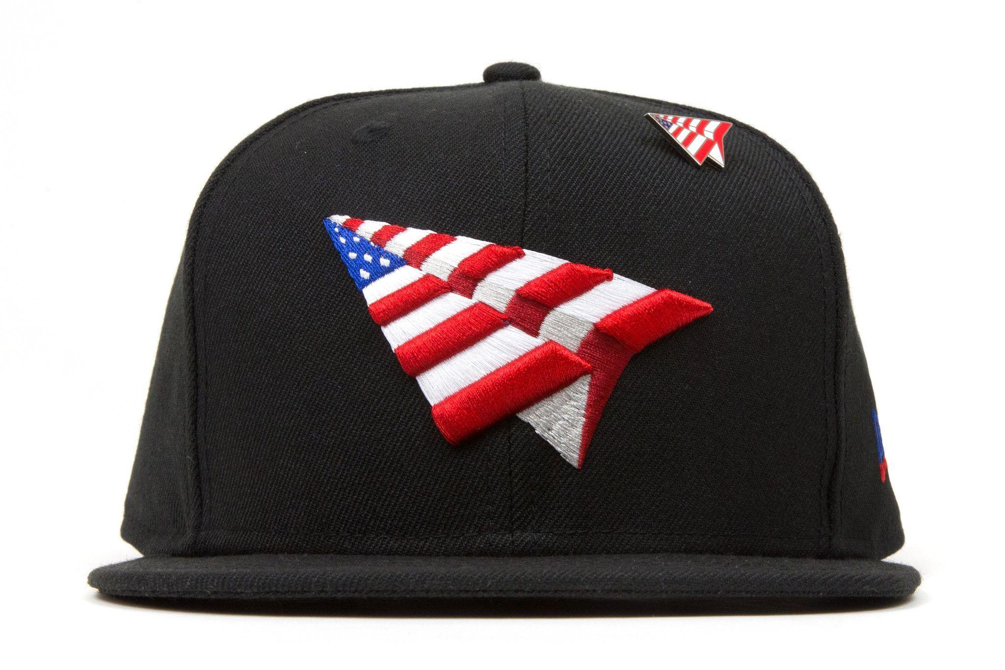 Roc Nation The Crown American Dream Old School Snapback w  Pin - Black 21824d8ff991