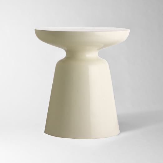 Martini Side Table Metal White White Side Tables Side Table Silver Side Table