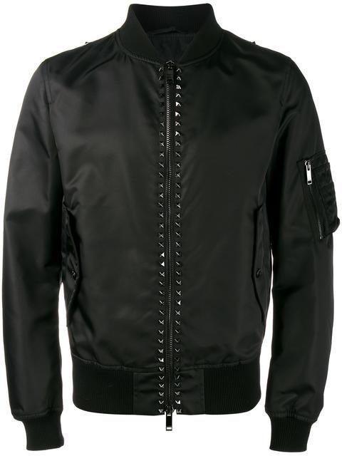 c1d6a7ac7 VALENTINO Rockstud Bomber Jacket.  valentino  cloth  jacket ...