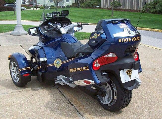 Spyder Wvsp Police Emergency Vehicles State Police