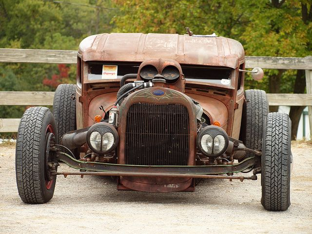Rat rod, theres something about this car that I just have to make one
