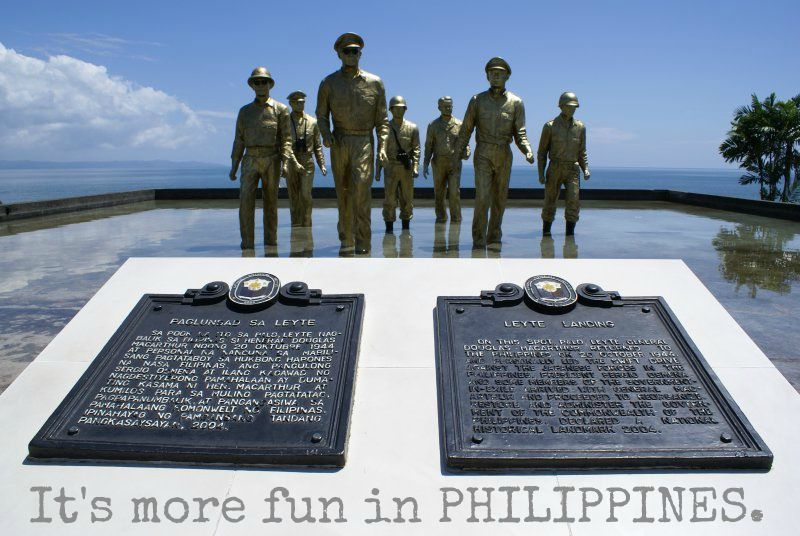 The Leyte Landing Memorial Park Palo Leyte Philippines Leyte