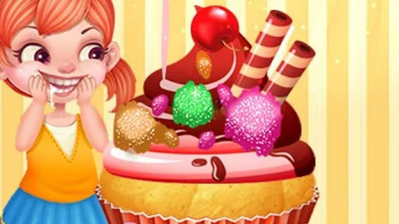 juego de cocina para jugar - juego de cupcakes - juego de niñas para ...