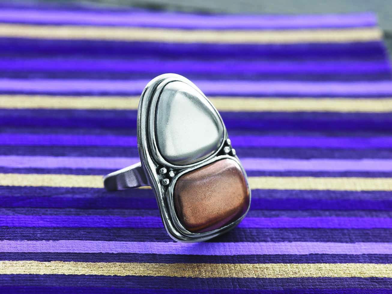 Good taste is always in #style. #Copper, #Sterling #Silver. #Silpada #Jewelry # Ring