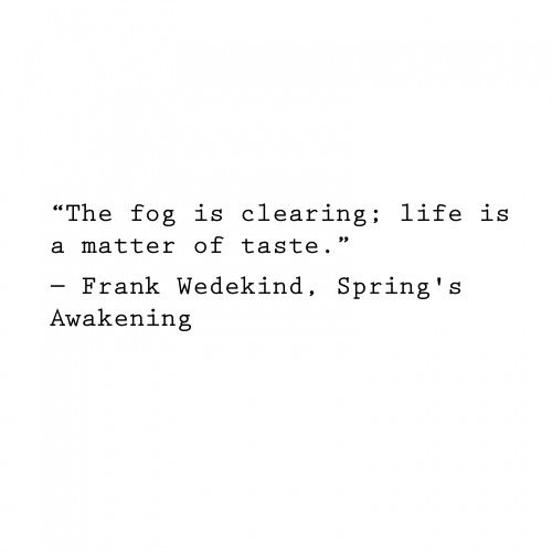 Spring Awakening Quotes and Poetry