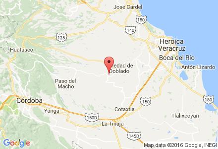 Mapa de ubicación de JOSE MARIA GAMBOA MEJIA