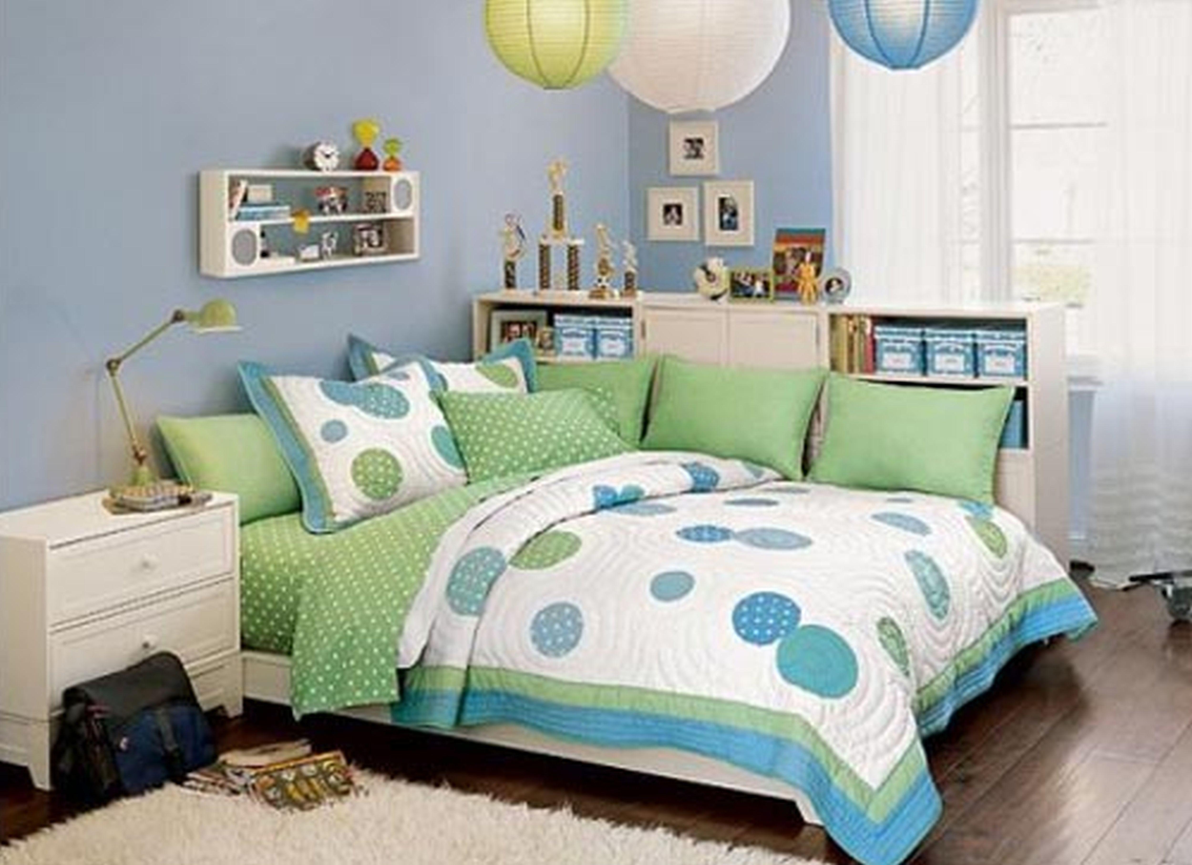 Blau Grün Schlafzimmer Design einen Ort wo Sie Einsinken und