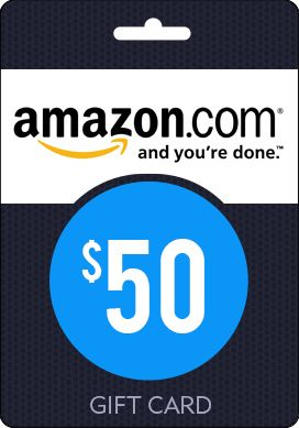 Buy Amazon 50 Gift Card 50th Gifts Gift Card Cards