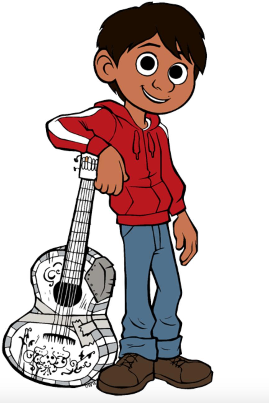 Miguel Rivera From Coco Dibujos Pintura Y Dibujo Coco Disney