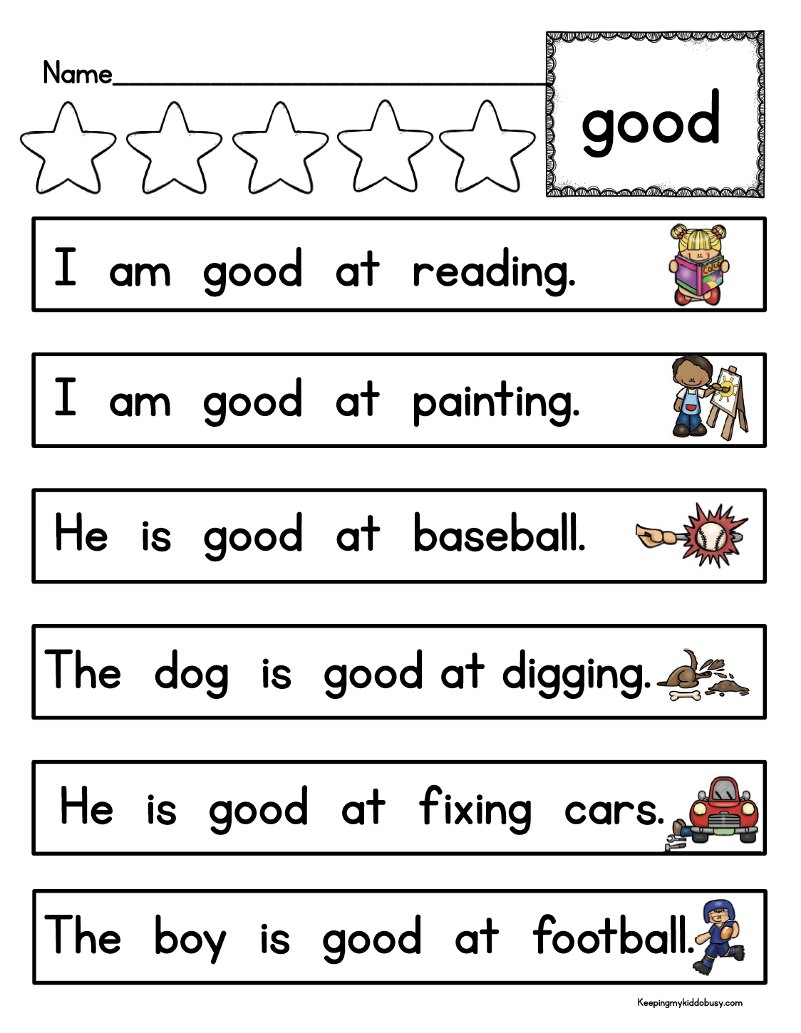 Sight Words With Images
