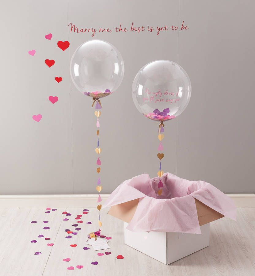 'Will You Be My Bridesmaid?' Bubble Balloon