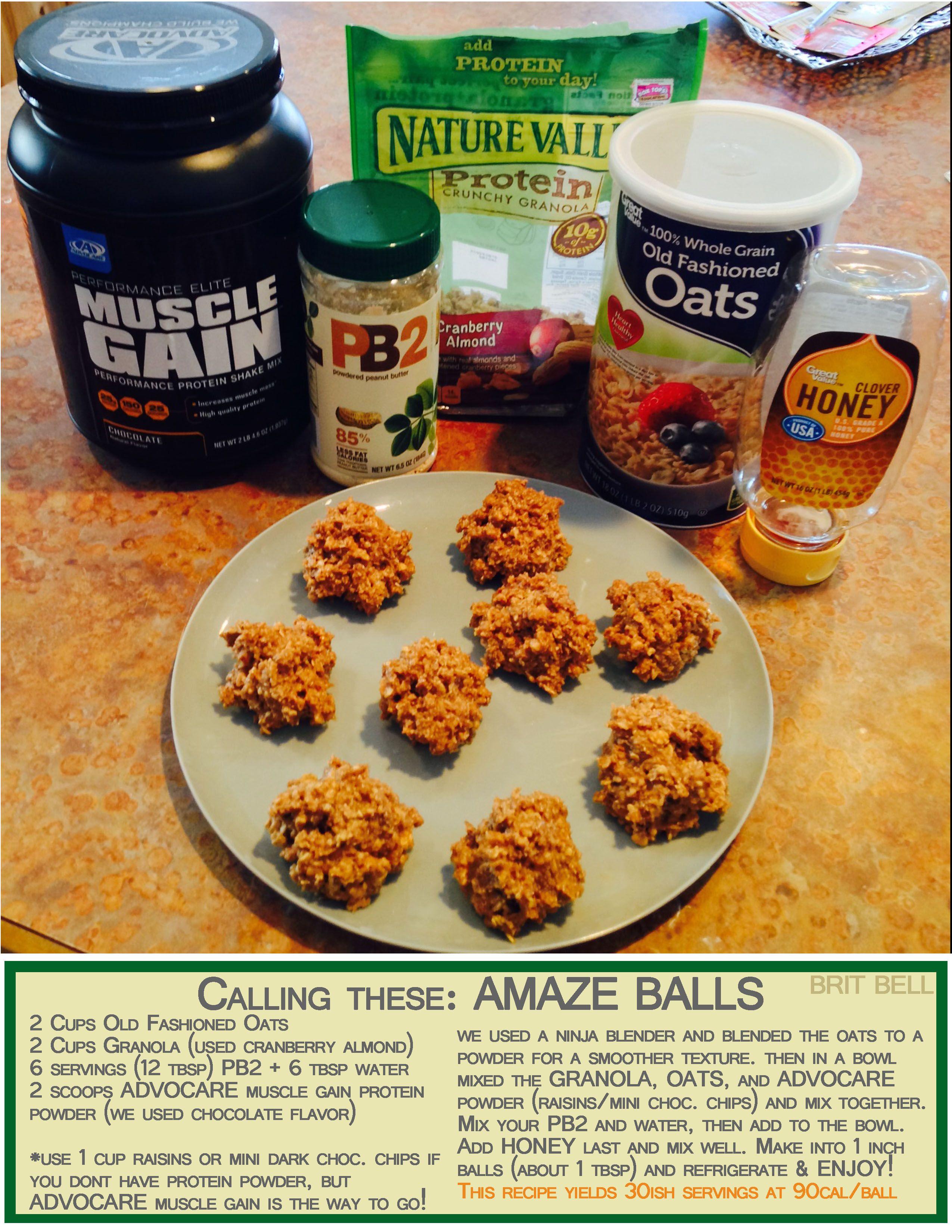 Fresh Advocare Muscle Gain Recipes