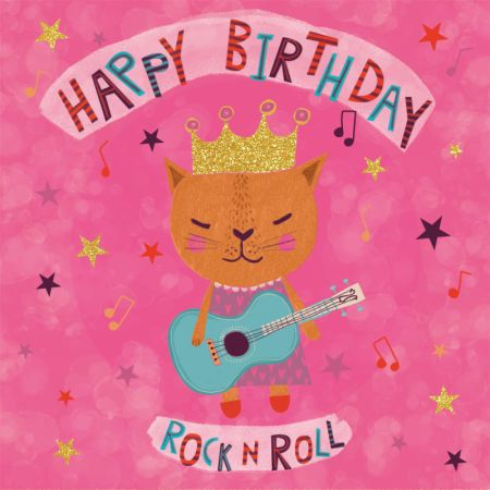 Andrea Frankie Van Mourik Cat Cute Birthday Girl