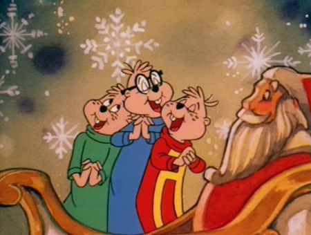Alvin And The Chipmunks Christmas.Chipmunks Christmas Cartoon Dec 10 A Chipmunks