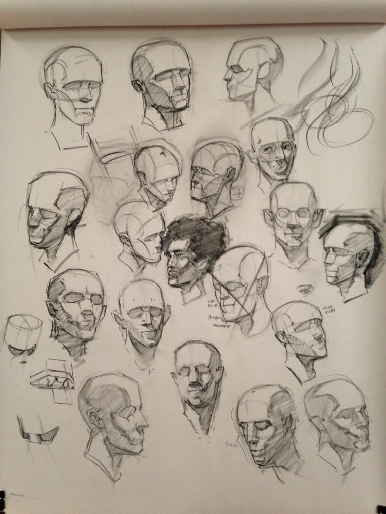 Topic: Gorgonzola\'s Sketchbook | Watts Atelier of the Arts | Watts ...