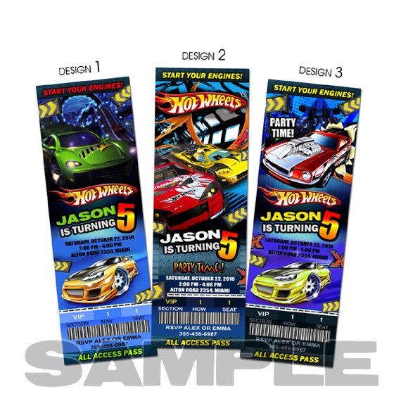 Hot wheels invitation birthday party invites printable custom ticket hot wheels invitation birthday party invites printable custom ticket baby shower 1st first card print cars filmwisefo Image collections